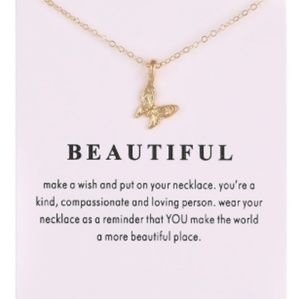You're Beautiful Necklace
